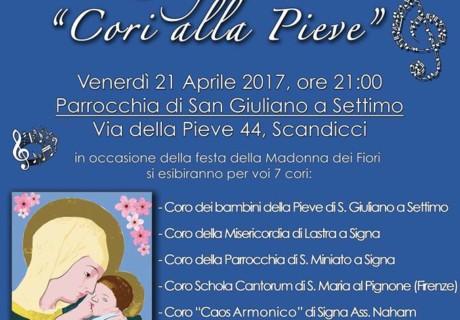 """2a Rassegna """"Cori della Pieve"""" 21 Aprile"""