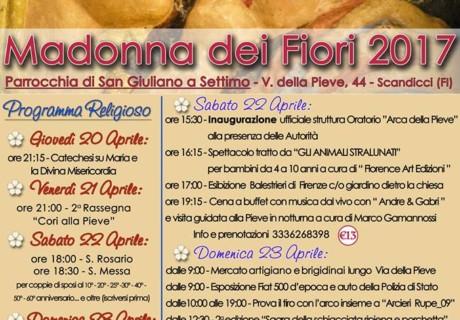 Madonna Dei Fiori dal 20 al 23 Aprile