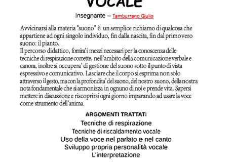 Canto e tecnica vocale