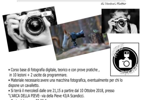 Corso di Fotografia 2018/19