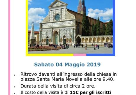 Visita guidata al complesso di Santa Maria Novella 8 Maggio 2019