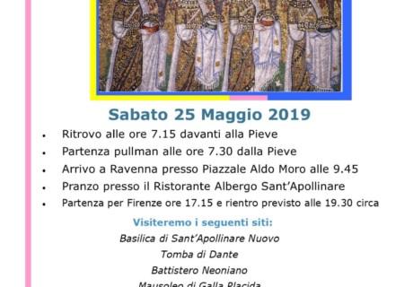 Visita ai mosaici di Ravenna 25 Maggio 2019